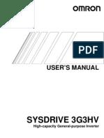 I515-E1-3 3G3HV User Manual