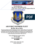 Veterans Radio-14 July 2012-Air Force Bomber Fleet