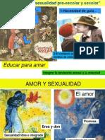 Educacion de La Sexualidad Preescolar Escolar 2012