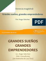 GRANDES SUEÑOS GRANDES EMPRENDEDORES