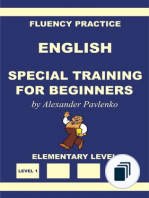 English, Fluency Practice, Elementary Level