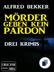 Alfred Bekker Thriller Sammlung