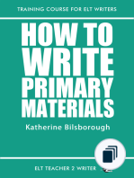 Training Course For ELT Writers