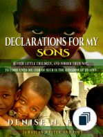 Declarations for my Sons and Daughters