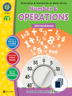 Principles & Standards of Math Series - Drills Grades PK-2