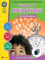 Principles & Standards of Math Series - Task & Drills Grades 3-5