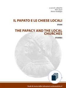 Studi di storia delle istituzioni ecclesiastiche