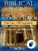 OT and NT Biblical Studies Student and Teacher Editions