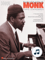 Thelonious Monk Plays Standards - Volume 1