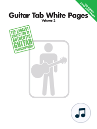 Guitar Tab White Pages - Volume 1 - 2nd Edition