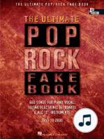 The Ultimate Pop/Rock Fake Book - 4th Edition