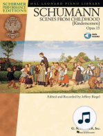 Schumann - Scenes from Childhood (Kinderscenen), Opus 15