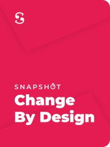 Read A Summary Of Change By Design How Design Thinking Transforms Organizations And Inspires Innovation By Tim Brown