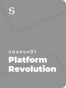 Platform Revolution: How Networked Markets are Transforming the Economy — and How to Make Them Work for You