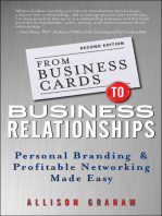 From Business Cards to Business Relationships