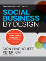 Social Business By Design: Transformative Social Media Strategies for the Connected Company