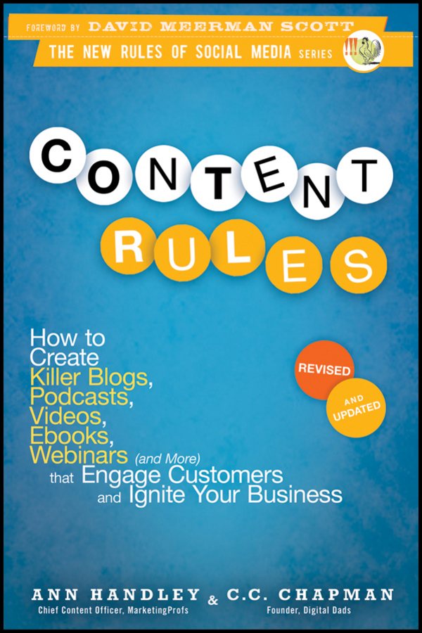 Content rules by ann handley and c c chapman by ann handley and content rules by ann handley and c c chapman by ann handley and c c chapman read online malvernweather Choice Image