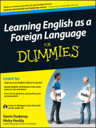 Learning English as a Foreign Language For Dummies