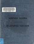 Sanatana Dharma - An Advanced Textbook of Hindu Religion and Ethics 2nd ed (1904).pdf Free download PDF and Read online