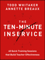 The Ten-Minute Inservice