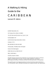 A Walking and Hiking Guide to the Caribbean