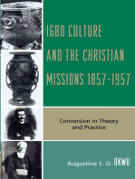 Igbo Culture and the Christian Missions 1857-1957