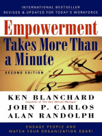 Empowerment Takes More Than a Minute