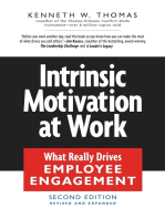Intrinsic Motivation at Work