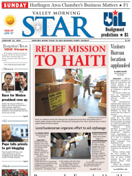 The Valley Morning Star 01-24-2010