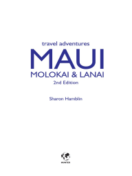 Maui, Lanai & Molokai Adventure Travel Guide