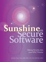 Sunshine on Secure Software: Baking Security into your SDLC Process