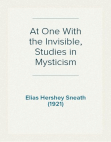 at-one-with-the-invisible Free download PDF and Read online