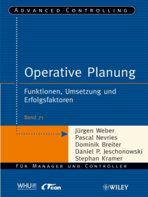 Operative Planung: Funktionen, Umsetzung und Erfolgsfaktoren