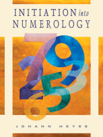 Initiation into Numerology