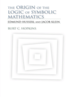 The Origin of the Logic of Symbolic Mathematics
