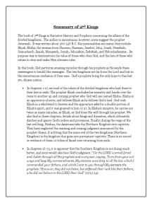 Summary of 2nd Kings
