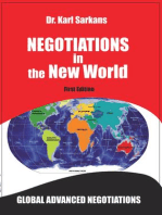 Negotiations in the New World: Global Advanced Negotiations