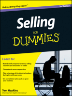 Selling For Dummies<sup>®</sup>