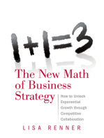 1+1=3 The New Math of Business Strategy: How to Unlock Exponential Growth through Competitive Collaboration