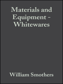 Materials and Equipment - Whitewares