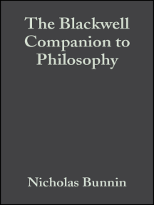 The Blackwell Companion to Philosophy