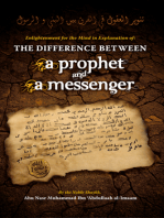 The Difference Between a Prophet and a Messenger