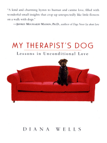 My Therapist's Dog: Lessons in Unconditional Love