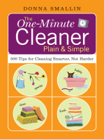 The One-Minute Cleaner Plain & Simple
