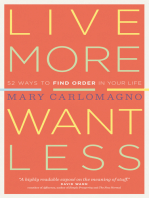 Live More, Want Less