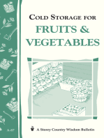 Cold Storage for Fruits & Vegetables