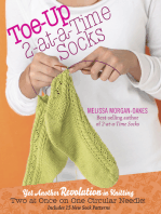 Toe-Up 2-at-a-Time Socks