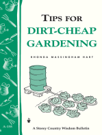 Tips for Dirt-Cheap Gardening