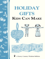 Holiday Gifts Kids Can Make
