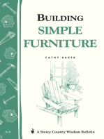 Building Simple Furniture